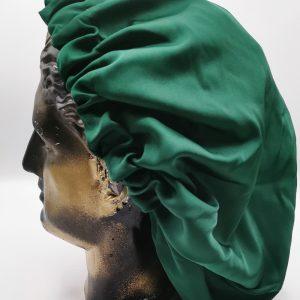 bonetă de păr verde smarald