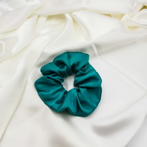 elastic de păr turquoise