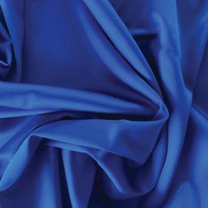 față de pernă din mătase albastru închis