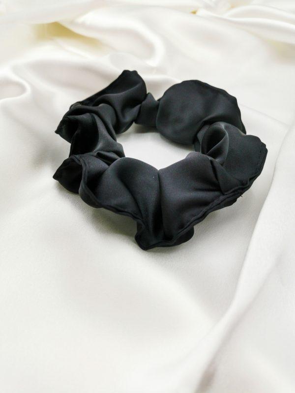 elastic de păr negru